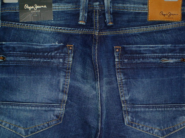 PEPE JEANS LONDON FRANKIE SLIM MEN'S JEANS DENIM