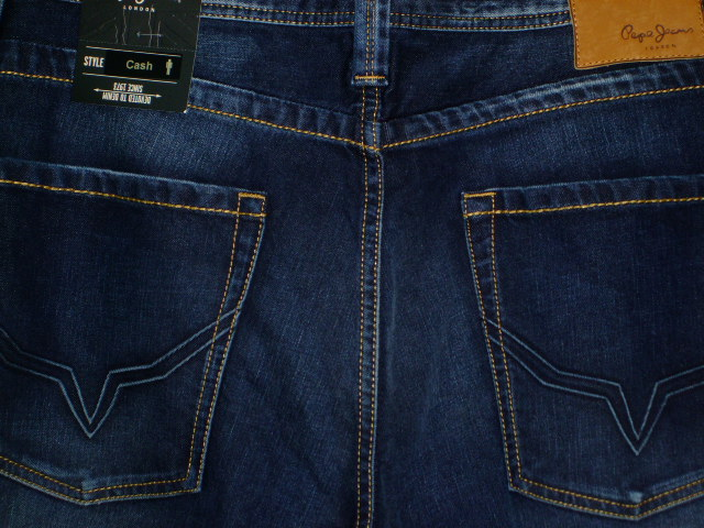 PEPE JEANS LONDON CASH SLIM MEN'S JEANS DENIM