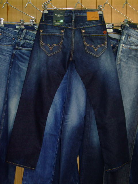 PEPE JEANS LONDON TOOTING STRAIGHT MEN'S JEANS DENIM